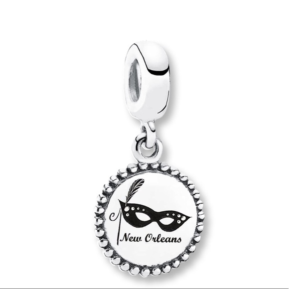 Authentic Pandora New Orleans dangle charm RETIRED